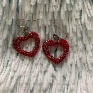 Jewelry - 💞VALENTINE'S DAY HEART EARRINGS💞